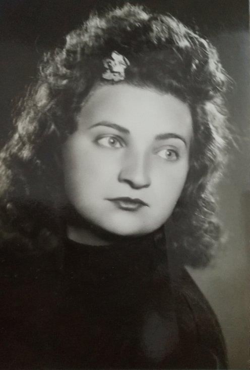 Marie Dubská v době války.