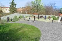 Pražští radní schválili stavbu veřejných záchodů a zázemí pro zahradníky na Petříně, proti němuž protestují občané.