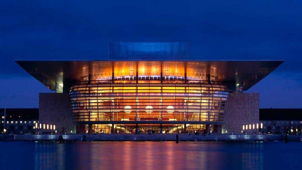Dánská Národní opera v Kodani.
