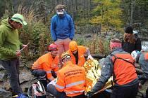 Středočeští záchranáři vyhráli první místo v soutěži Záchrana 2014.