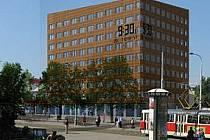 Vizualizace nové budovy radnice Prahy 8 na Palmovce.