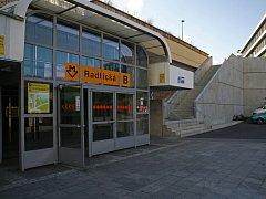 Stanice Radlická. Ilustrační foto.