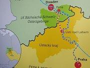 Jednání o stavbě vysokorychlostní železniční trati Praha Drážďany.
