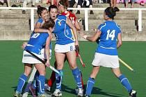 ŠEST! Tolikrát oslavovaly v duelu s českými reprezentatkami italské hráčky.