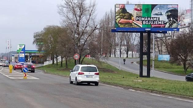 BigBoard podpořil kampaní českou armádu.