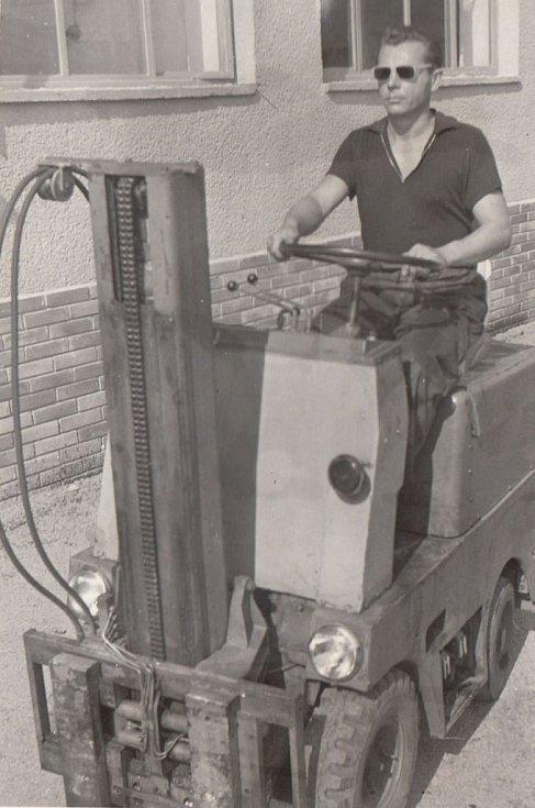 Liboš Buben pracoval jako opravář vysokozdvižných vozíků.