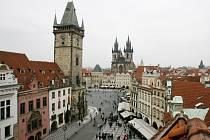 Staroměstská radnice na Staroměstském náměstí v Praze.