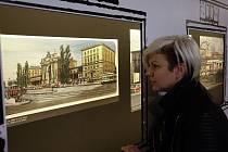 Z výstavy Nádraží Praha-Těšnov - provoz nepřerušen v Muzeu hlavního města Prahy.