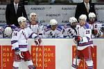 Zápas Tampy Bay Lightning s New York Rangers, který se odehrál 4. října v O2 Aréně v Praze.