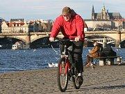 CYKLISTIKA v Praze je stále oblíbenější.