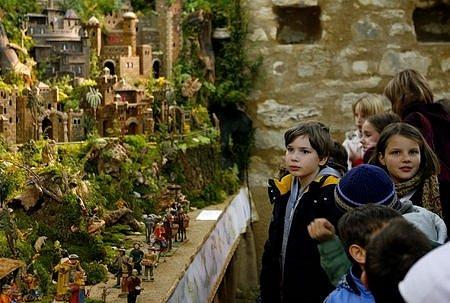 21. listopadu se v Jindřišské věži v Praze konala se výstava třeštských betlémů.