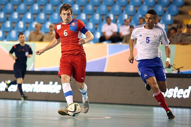 Čeští futsaloví akademici porazili na mistrovství světa Francii 11:3 a získali bronzové medaile!