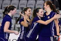 České juniorské hokejistky porazily Portugalsko 3:0.
