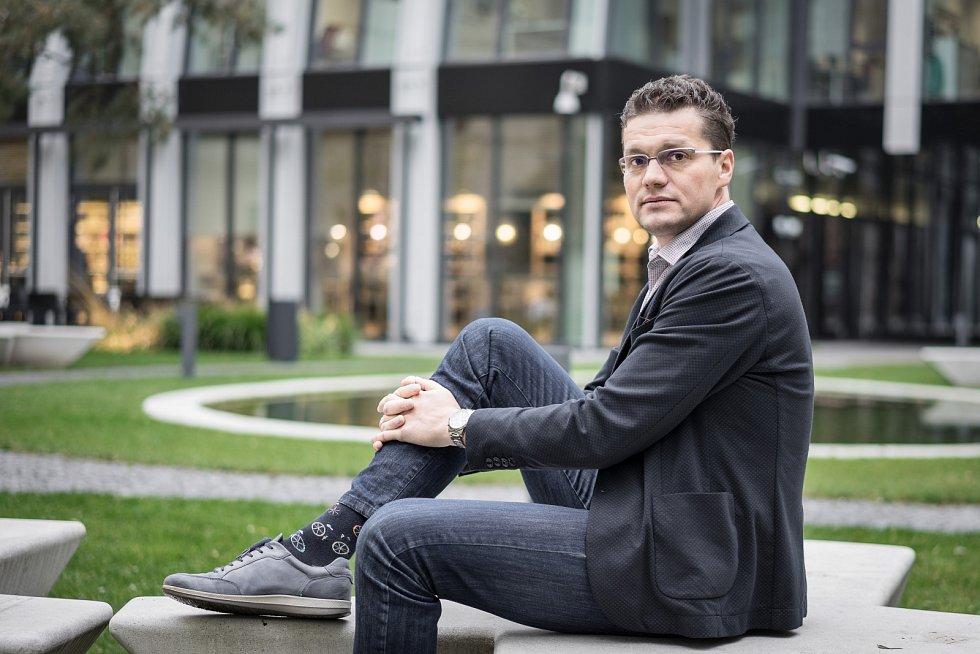 David Musil, ředitel rezidenční výstavby Penta Real Estate.