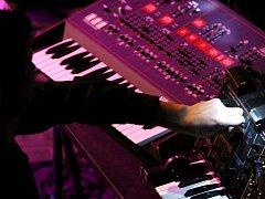 Z koncertu slovinské kapely Laibach v pražském Divadle Archa.