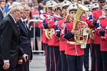 Prezident Miloš Zeman přivítal 27. června na Pražském hradě rakouského prezidenta Alexandera Van der Bellena.