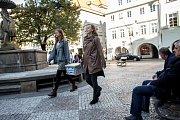 Voliči volili 5. října během prvního dne voleb do zastupitelstev obcí a senátních voleb v Praze.