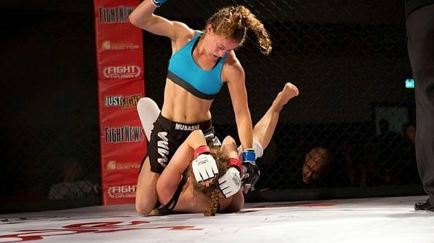 Magdalena Šormová trénuje čtyřikrát až šestkrát týdně.
