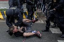 Policie obvinila 16 aktivistů. Ilustrační foto.