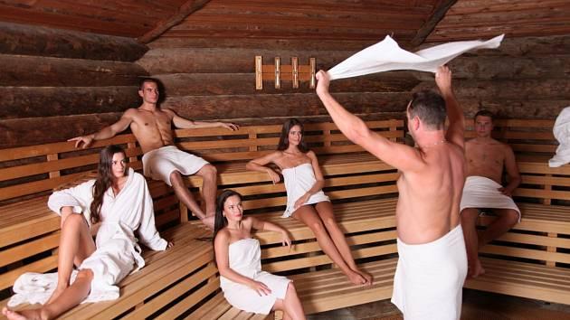 Aquapalace hostí mezinárodní saunový festival.