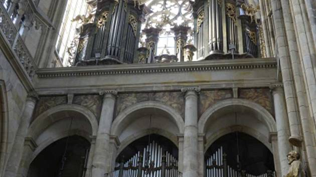 Varhany v katedrále sv. Víta.