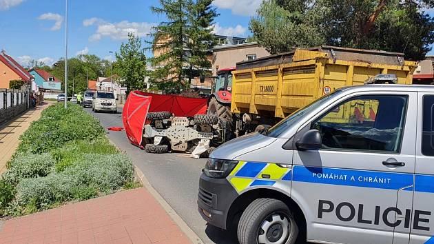Tragická nehoda v Horních Počernicích.