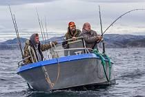 Strahovské kino dnes promítá novou českou komedii Svéráz českého rybolovu.