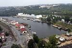 Holešovický přístav. Ilustrační foto.