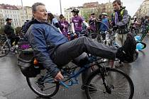 V centru Prahy se konala Velká jarní cyklojízda