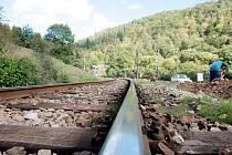 Vlakové koleje. Ilustrační foto.