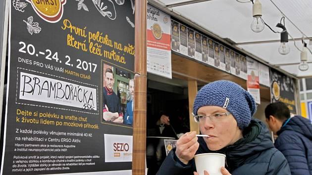 Velká únorová Polévková smršť na Andělu.