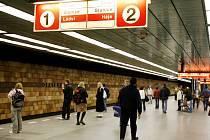 Opatov - stanice metra. Ilustrační foto.