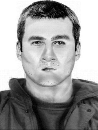 Kriminalisté pátrají po útočníkovi zbohnického baru, pomoci by jim mohl sestavený identikit.