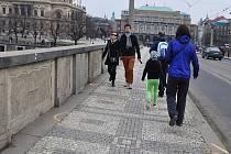 Mánesův most. Ilustrační foto.