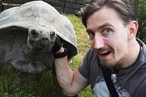 Youtuber Martin Rota v sobotu poradí v Zoo Praha, jak točit úspěšná videa.