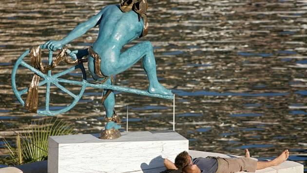 Anna Chromy, socha Ulysse.