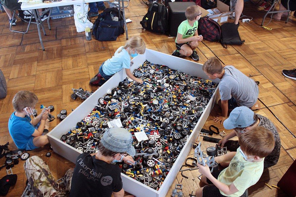 Festival inovací a kreativity Maker Faire Prague na Výstavišti v pražských Holešovicích.