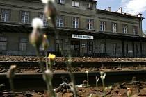Vlakové nádraží Praha-Bubny.