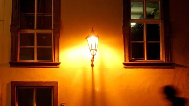 Osvětlení. Ilustrační foto.