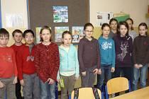 Žáci 5.A jinonické základní školy