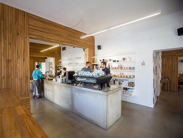 Kavárna místo.