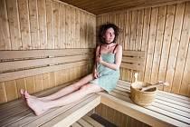 Sauna. Ilustrační foto.