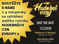 Soutěžte o 4 vstupenky na vyhlášení dalšího ročníku Hudebních cen Evropy 2