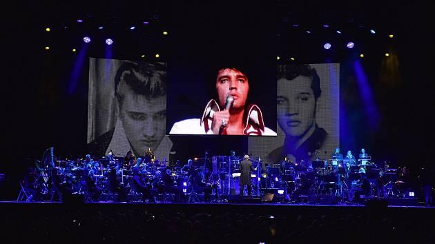 Pražský koncert Elvis Live on Screen nabídne unikátní šanci vidět obřího krále rock'n'rollu.