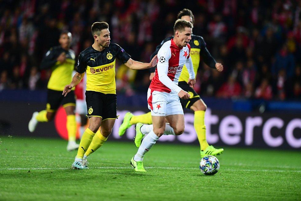 Utkání druhého kola skupinové fáze Ligy mistrů - SK Slavia Praha vs. Borussia Dortmund