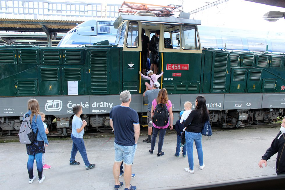 Pražský železniční den.