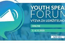 Online přednáška o udržitelném rozvoji a společenské odpovědnosti.