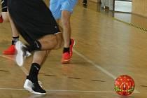 Halový fotbal. Ilustrační foto.