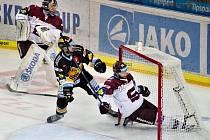 Předehrávka 19. kola hokejové extraligy: HC Sparta Praha - HC Verva Litvínov.