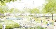 Plánovaná proměna Karlova náměstí - vizualizace.